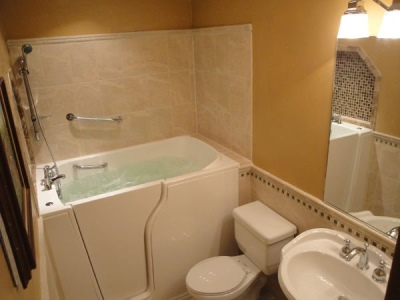 Independent Home Products, LLC installs hydrotherapy walk in tubs in Bismarck